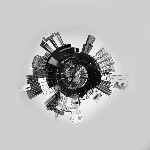 Abstrait 3d de la planète - Photo