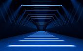 Abstract 3d corridor