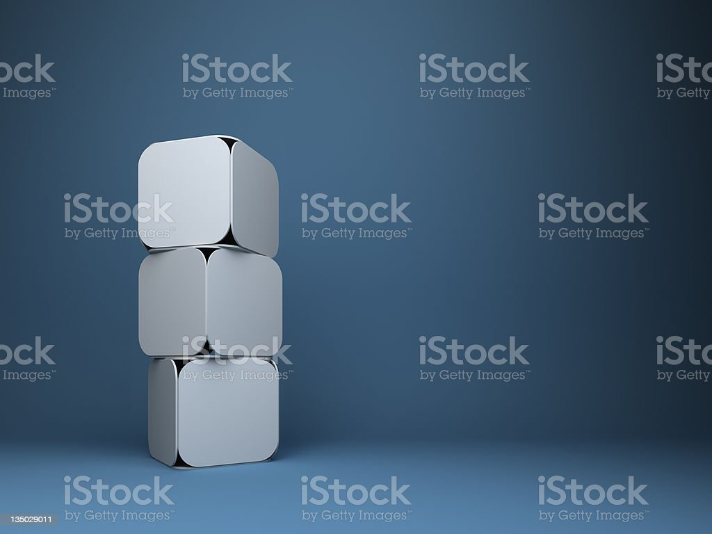 abstract 3d cubes design background stock photo