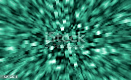 926309126istockphoto Abstract 3D green cube futuristic background 1127702513