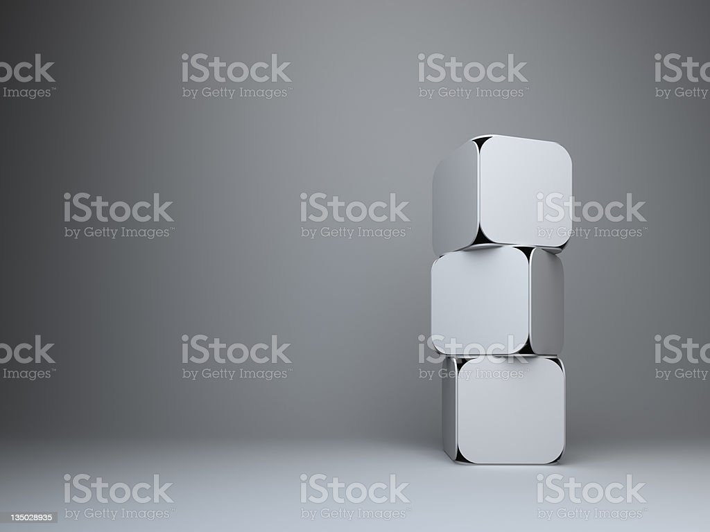 abstract 3d rectangles design background stock photo