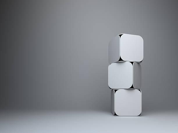 Fondo abstracto 3d rectangles diseño - foto de stock