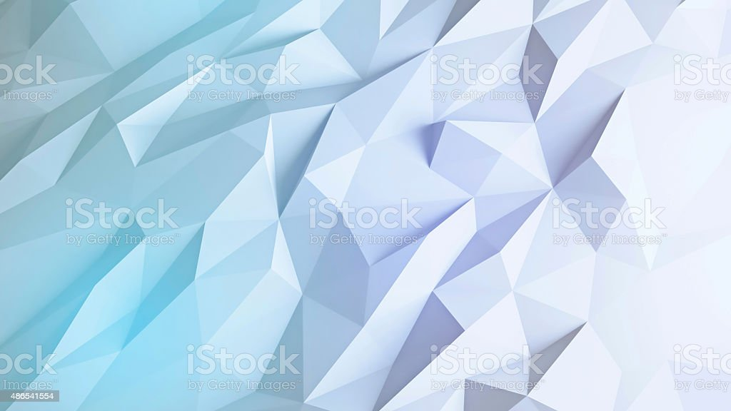 abstract 3d render background techno triangular low poly backgr
