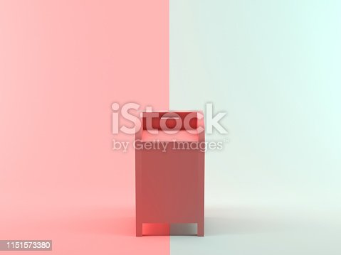 istock Abstract 3D Rendering Mailbox 1151573380