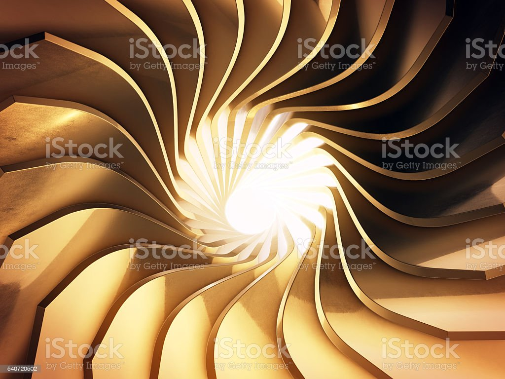 Abstract 3d rendering of gold surface.3d rendering. stock photo