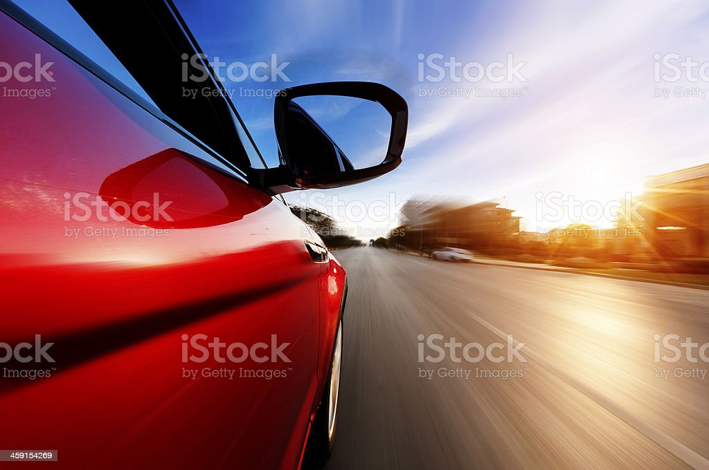 Movimento astratto accelerazione - foto stock