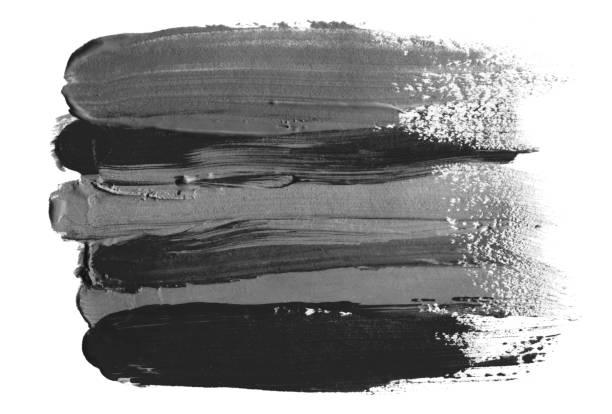 Abstrato-acrílica e aquarela pincelada pintaram fundo. Isolado. - foto de acervo