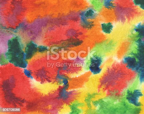 649796262istockphoto Abstract acrylic and watercolor brush strokes painted background. Texture paper. 926709086