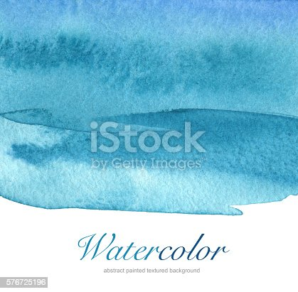 istock Abstract acrylic and watercolor painted background. 576725196