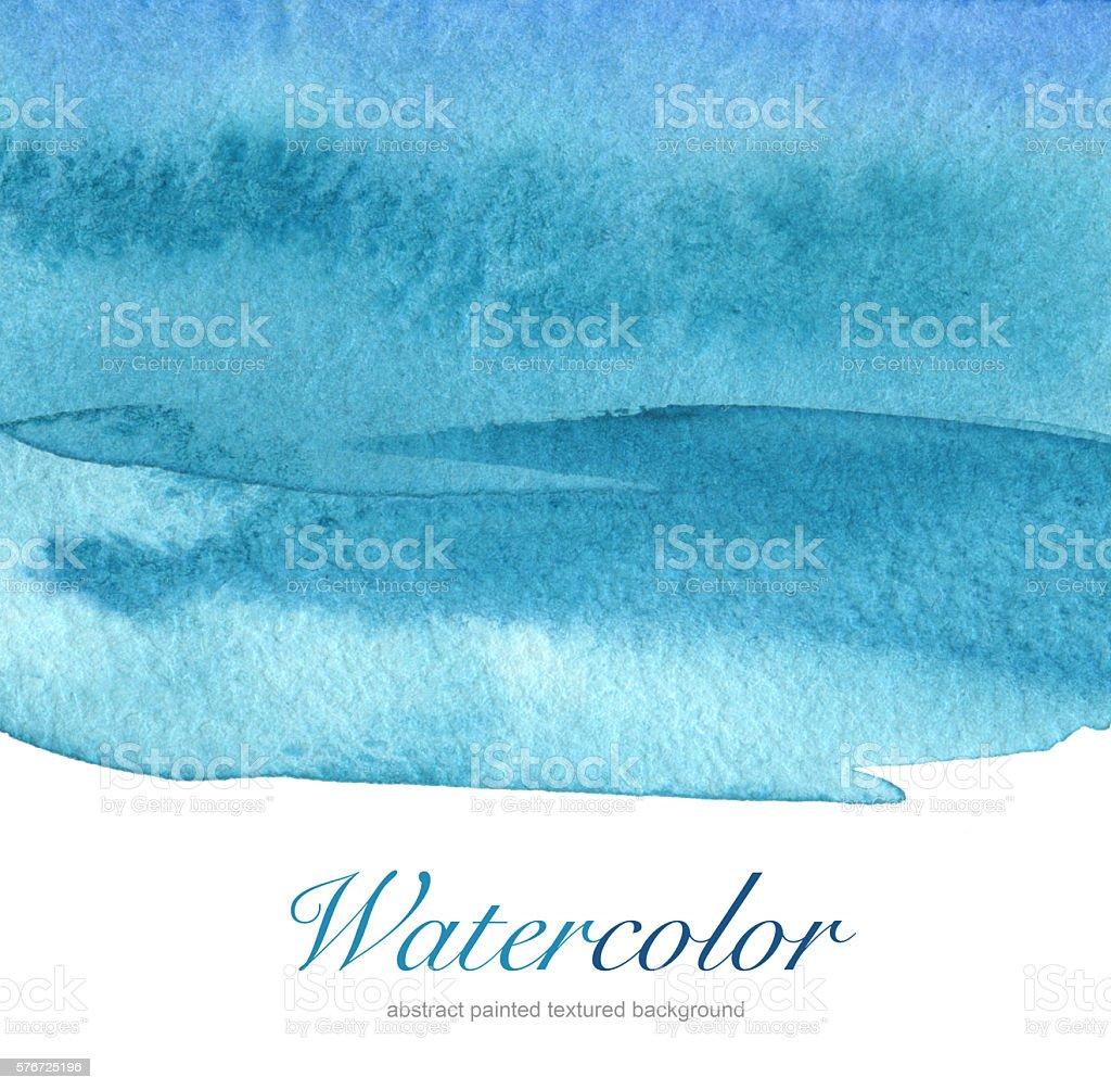 Acrílico e abstrato aquarela pintados de fundo. - foto de acervo
