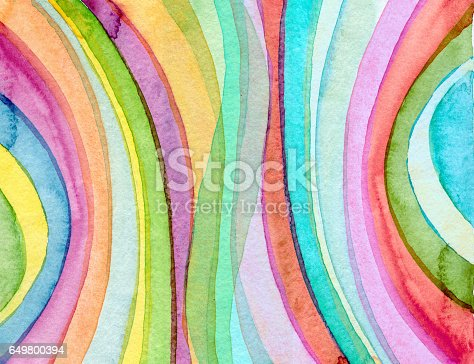 istock Abstract acrylic and watercolor painted background 649800394