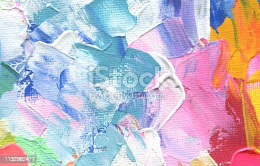 649796262istockphoto Abstract acrylic and watercolor painting. Canvas texture background. 1132982417