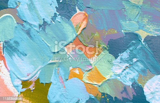 649796262istockphoto Abstract acrylic and watercolor painting. Canvas texture background. 1133395856