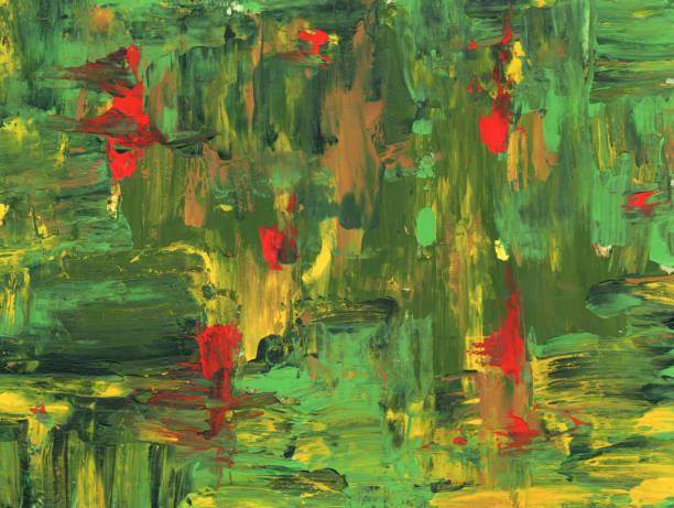 abstrakt acryl hintergrund - waldmalerei stock-fotos und bilder