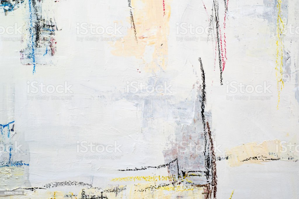 Abstract acrylic line painting background - foto stock