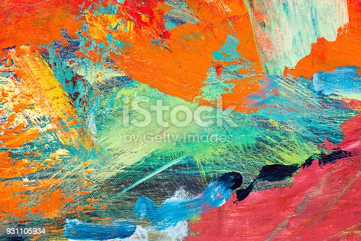 istock Abstract Acrylic Painting Textured Background 931105934