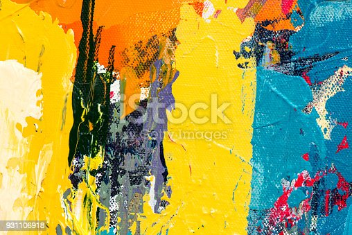 831487596 istock photo Abstract Acrylic Painting Textured Background 931106918