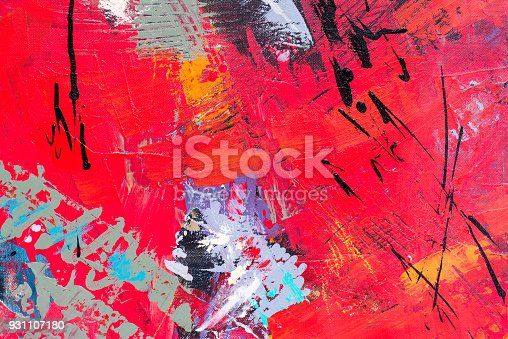 831487596 istock photo Abstract Acrylic Painting Textured Background 931107180