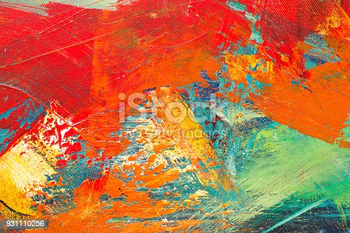 istock Abstract Acrylic Painting Textured Background 931110256