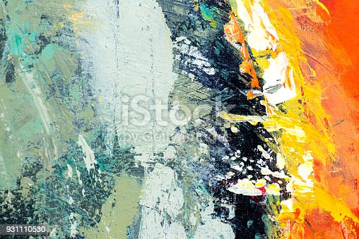 831487596 istock photo Abstract Acrylic Painting Textured Background 931110530