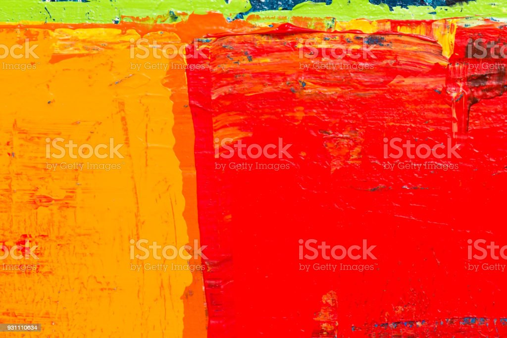 Soyut akrilik resim arka plan dokulu - Royalty-free ABD Stok görsel
