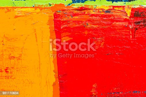 istock Abstract Acrylic Painting Textured Background 931110634