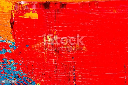 831487596 istock photo Abstract Acrylic Painting Textured Background 931113680