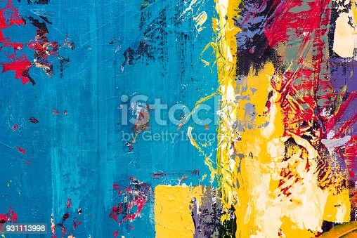 istock Abstract Acrylic Painting Textured Background 931113998