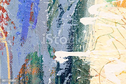 831487596 istock photo Abstract Acrylic Painting Textured Background 931115454