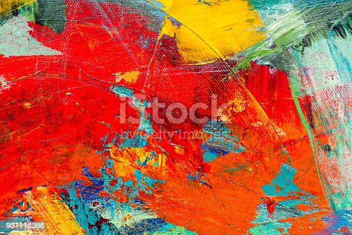 831487596 istock photo Abstract Acrylic Painting Textured Background 931118368