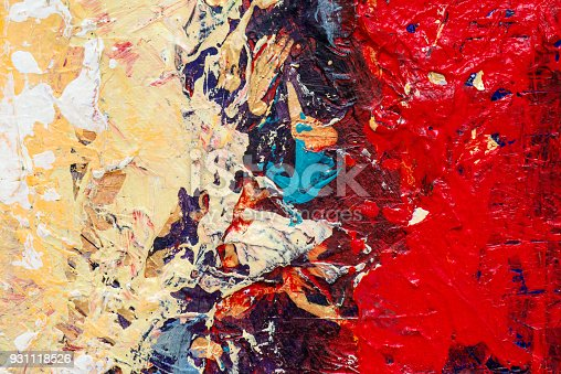 831487596 istock photo Abstract Acrylic Painting Textured Background 931118526