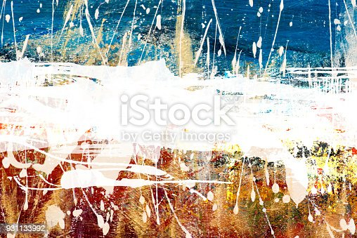 931131702istockphoto Abstract Acrylic Painting Textured Background 931133992