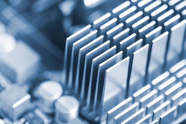 abstrato alumínio esfriadora - ambient temperature imagens e fotografias de stock