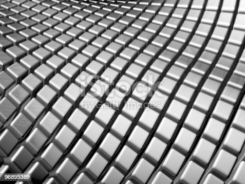 96897092istockphoto Abstract aluminum square background 96895369