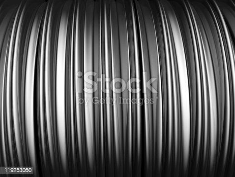 istock Abstract aluminum stripe pattern background 119253050