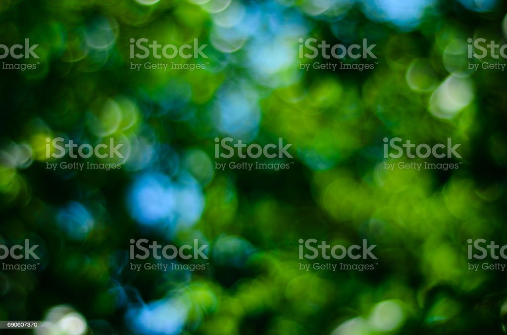 Abstract and blurred green background stock photo