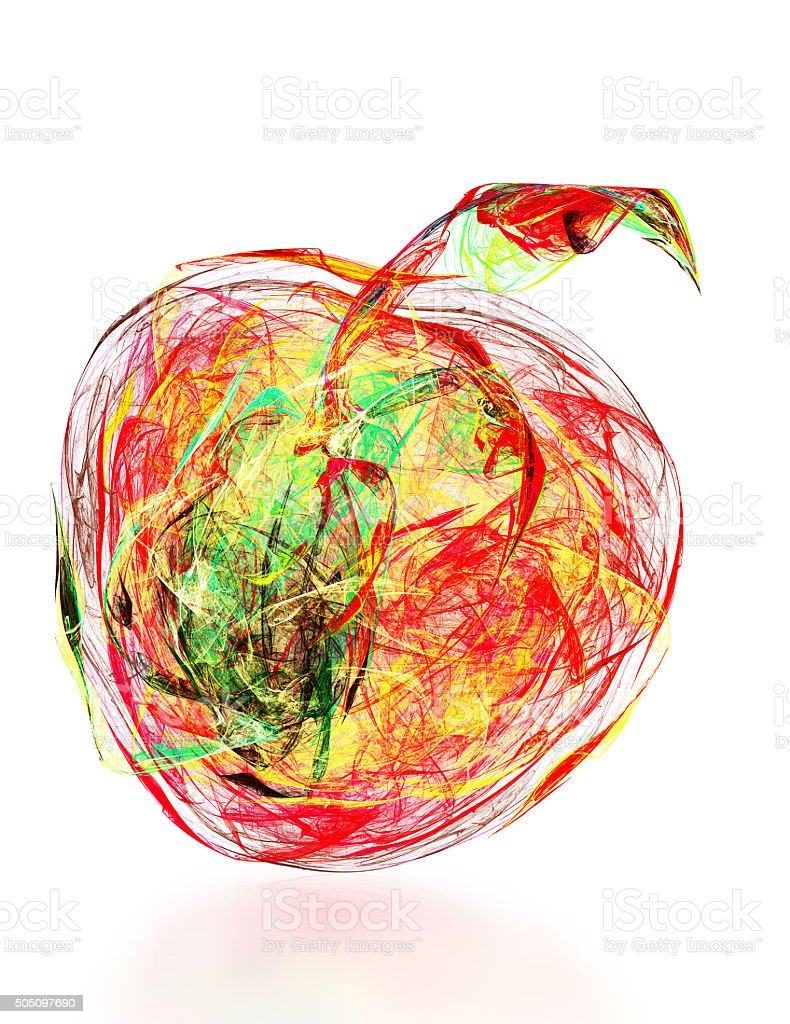 Abstract Apple Stock Photo & More Pictures of Abstract   iStock