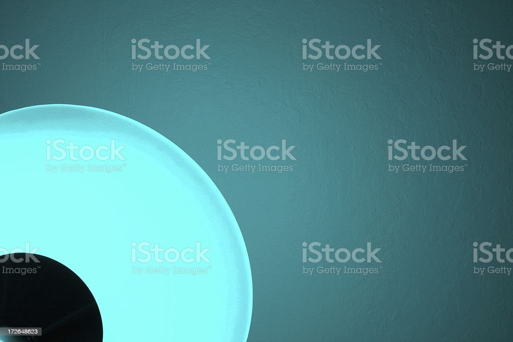 Abstract Aqua Glow royalty-free stock photo