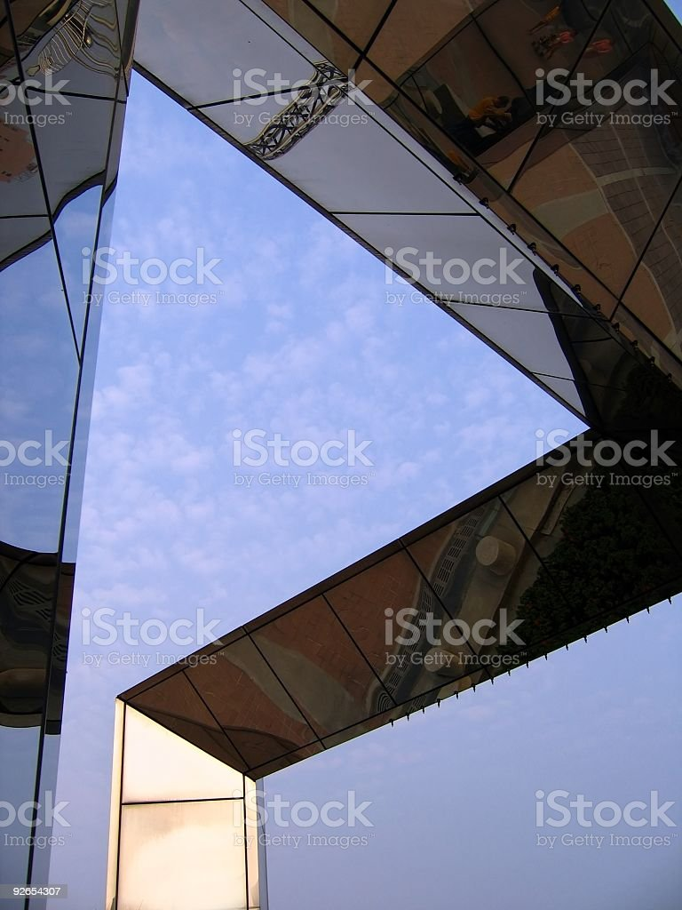 Abstract Architectural Detail royalty-free stock photo
