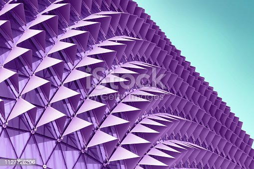 533437662 istock photo Abstract architectural pattern 1127726206