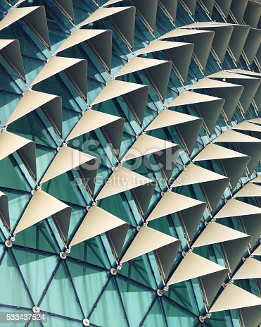 533437662 istock photo Abstract architectural pattern 533437524