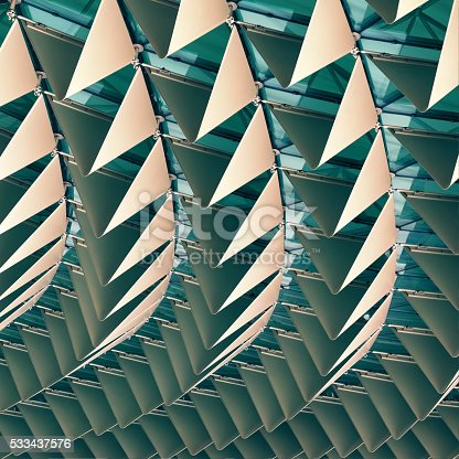 533437662 istock photo Abstract architectural pattern 533437576