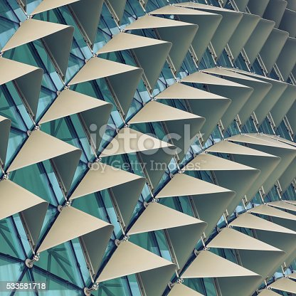 533437662 istock photo Abstract architectural pattern 533581718