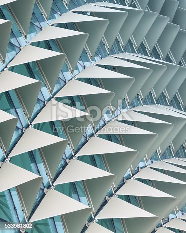 533437662 istock photo Abstract architectural pattern 533581802
