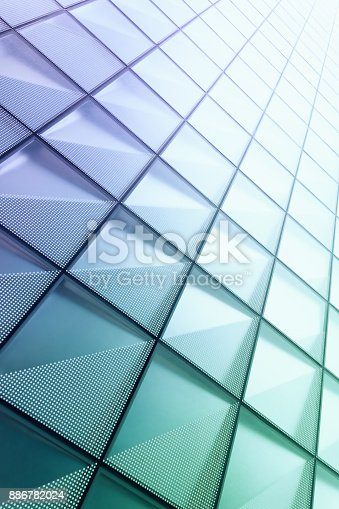 istock Abstract architectural pattern 886782024