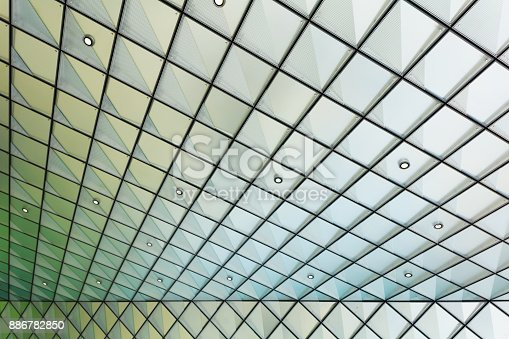 istock Abstract architectural pattern 886782850