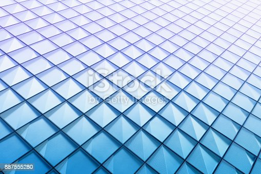 istock Abstract architectural pattern 887555280