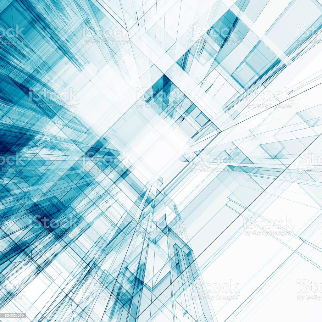 Fotografía de Resumen Arquitectura Render 3d y más banco de imágenes ...