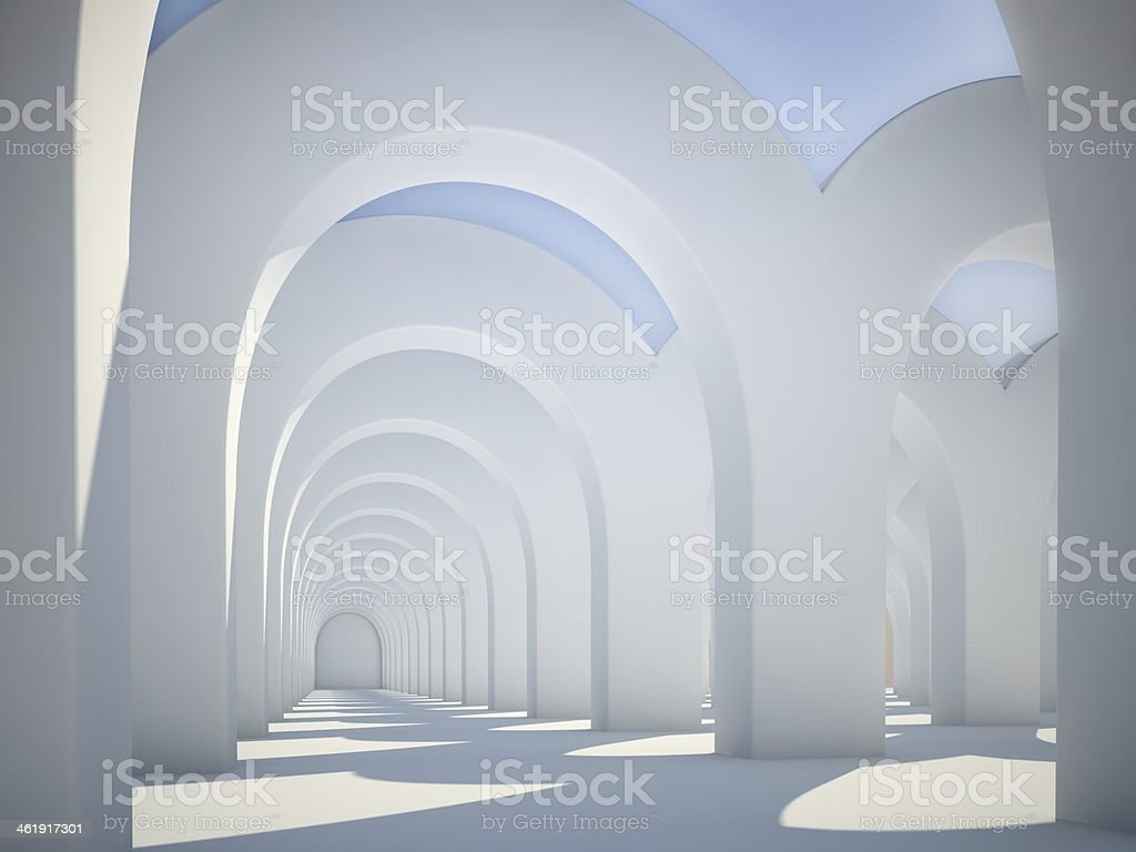 Abstrakt Architektur arches – Foto
