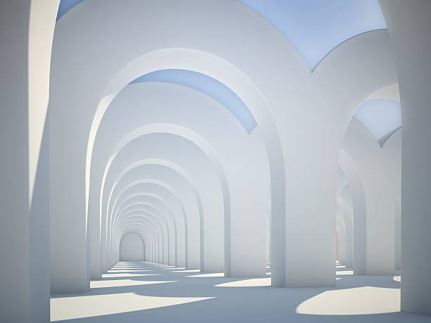 Abstrakt Architektur arches – Foto